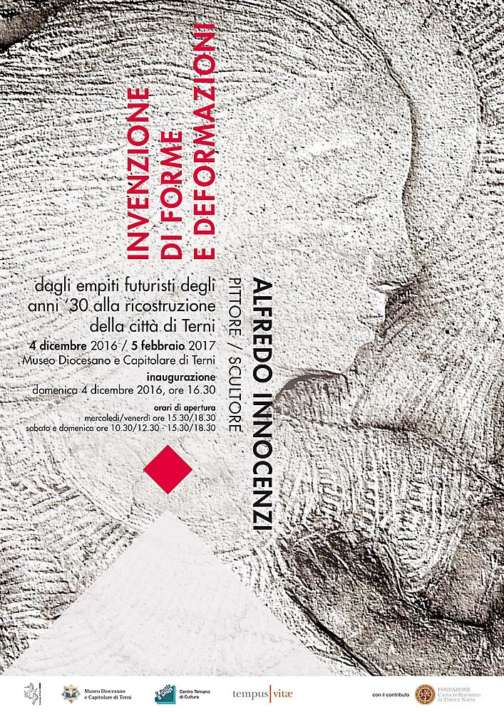 Invenzione di forme e deformazioni - Alfredo Innocenzi pittore e scultore