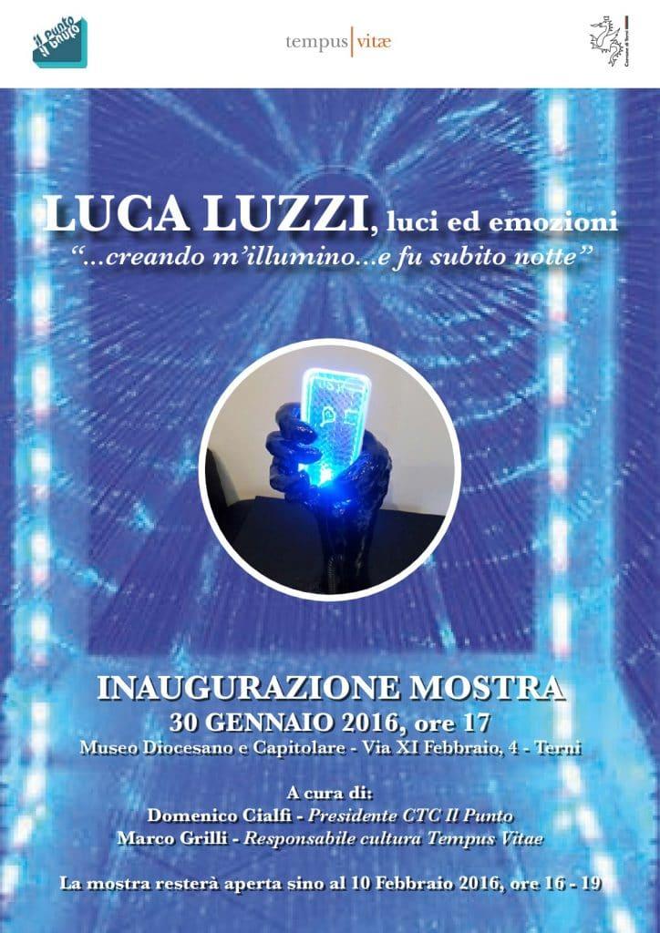 Mostra Luca Luzzi