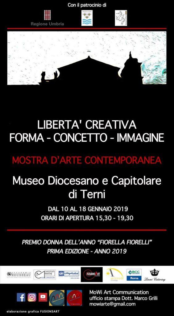 Libertà Creativa – Mostra Collettiva