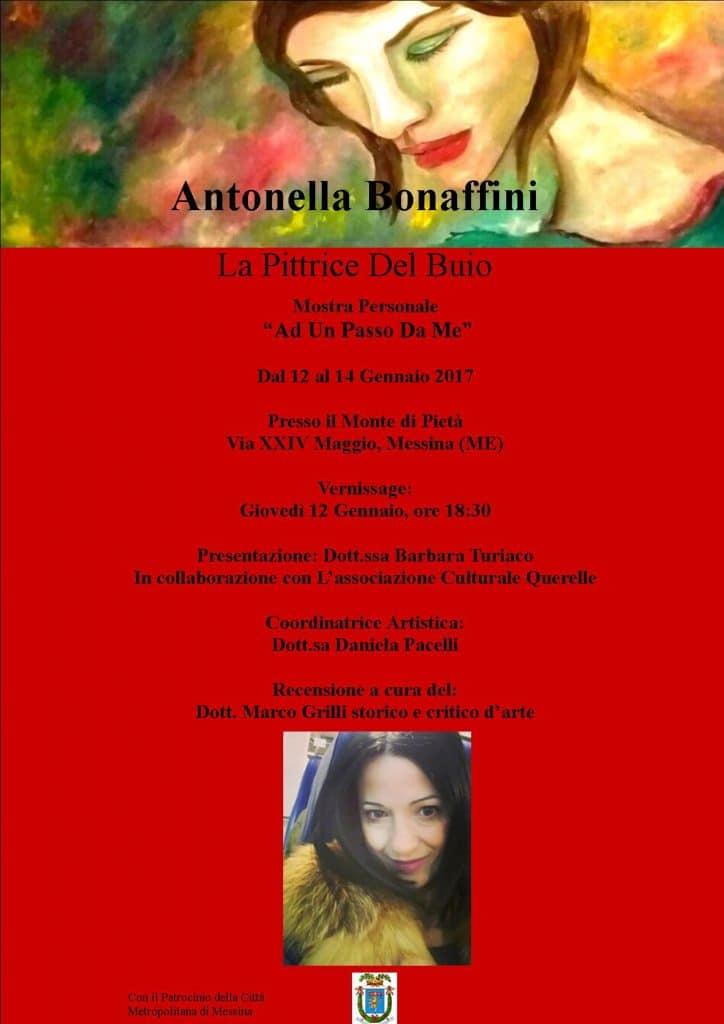 Ad un passo da me – Personale Antonella Bonaffini