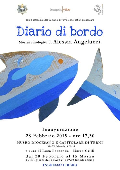 Diario di Bordo – Personale di Alessia Angelucci