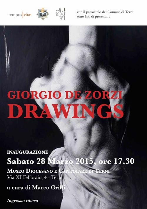 Drawings – Personale di Giorgio De Zorzi