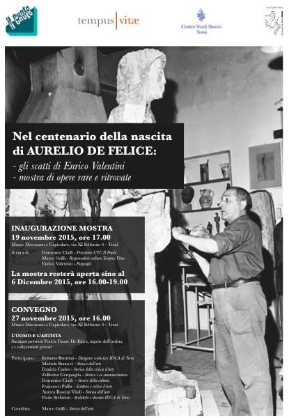 Nel centenario della nascita di Aurelio De Felice – Mostra