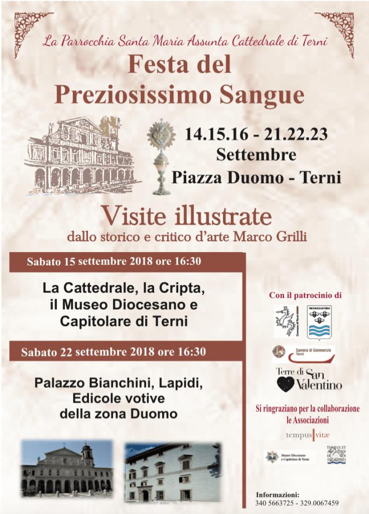 Festa del Preziosissimo Sangue – Visite illustrate a Terni